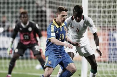 Senegal e Ucrânia fizeram uma partida bastante equilibrada, a qual foi decidida somente nos pênaltis (Foto: Alex Livesey)