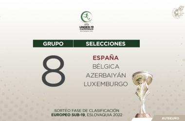 Grupo de la ronda de clasificación FOTO: @SeFutbol