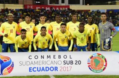 La Selección Ecuatoriana Sub-20 calienta motores.