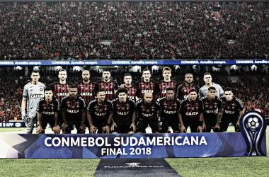 El equipo brasilero es el campeón de la Copa Sudamericana. FOTO: WEB.
