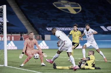 Mesmo pouco objetiva, França bate Suécia e conquista primeiro triunfo na Nations League