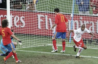 España 0-1 Suiza, Sudáfrica 2010: el resultado que todos los suizos quieren repetir