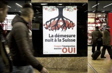 Suiza limitará la entrada de inmigrantes procedentes de la UE en su mercado laboral