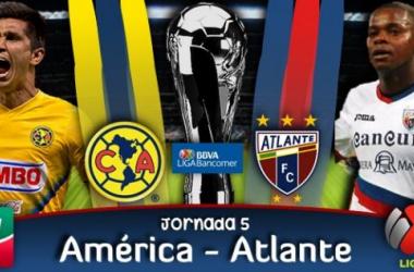 Resultado América - Atlante en Liga MX (1-0)