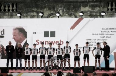 Sunweb y Barguil cierran en la Vuelta a España su año mágico. | Foto: Miguelez
