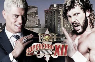 Cartel oficial para el combate entre Cody y Omega   Fuente: Ring Of Honor