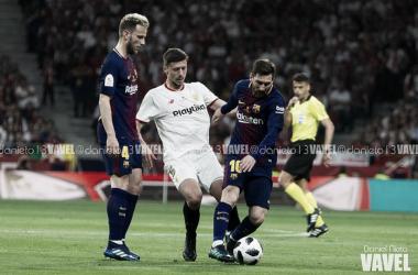 Encuentro entre el Sevilla FC y el FC Barcelona   Foto: Daniel Nieto (VAVEL.com)