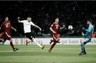 Rebic fue la estrella de aquella final por la copa nacional | Foto: DFB Pokal