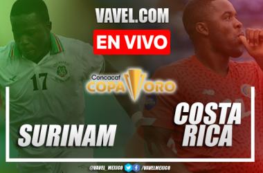 Goles y resumen del Surinam 1-2 Costa Ricaen Copa Oro 2021