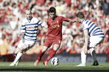 Suso in action on his Liverpool debut in pre-season summer 2012. Source: AP