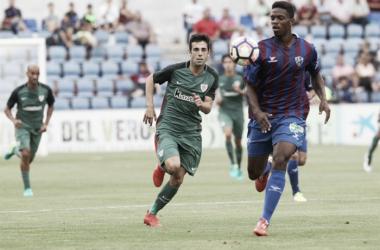 Markel Susaeta se estrenó con gol en la pretempoarada | Foto: Athletic