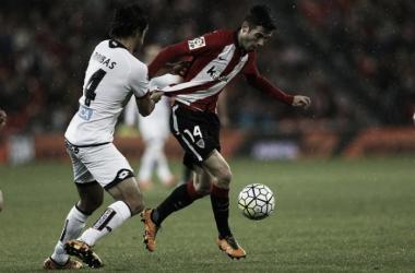 Markel Susaeta, en una jugada ante el Depor. | Foto: Athletic.