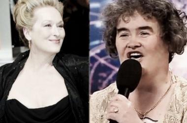 Boyle y Streep. (Foto (sin efecto): newsco.me).
