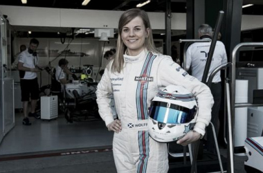Susie Wolff, piloto de testes da Williams (Foto: Williams).
