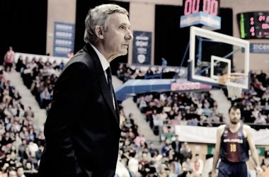 Svetislav Pesic ha reconducido el choque y ha conseguido la 17ª victoria del año para el Barça Lassa | Foto: ACB Photo