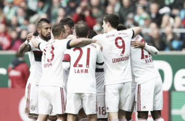 Bayern estabelece novo recorde na Bundesliga ao vencer Werder Bremen