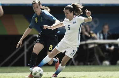 The games between the USWNT and Sweden are always intriguing match ups | Source: Evaristo Sa-AFP