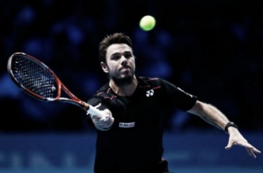 Wawrinka will face Andy Murray for a place in the semi-finals (pic from ATP)