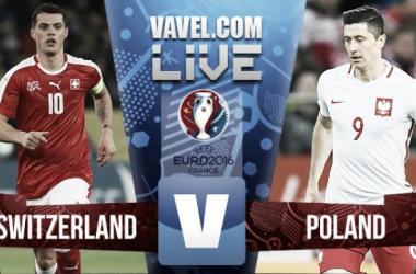 Switzerland 1 (4) - 1 (5) Poland: As it happened