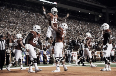 Tyrone Swoops played an integral part of the Longhorns victory. | Photo: USA Today Sports
