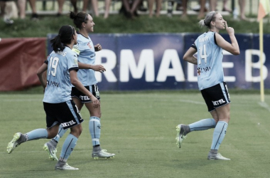 Alanna Kennedy and Kyah Simon score to give Sydney FC three points. (Source: @TheWomensGame)