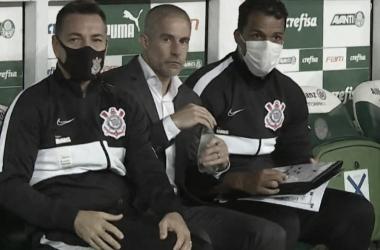 Sylvinho em Palmeiras 1 a 1 Corinthians (SC Corinthians Paulista / Divulgação)