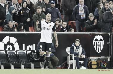 Simone Zaza, a segno contro il Betis. Fonte: LaLiga.es