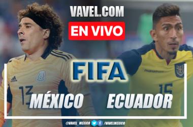 México vs Ecuador EN VIVO: ¿cómo ver transmisión TV online en Amistoso 2021?