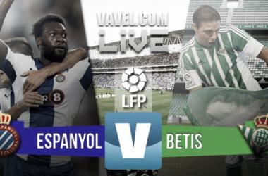 Resultado RCD Espanyol 0-3 Real Betis en Primera División 2016