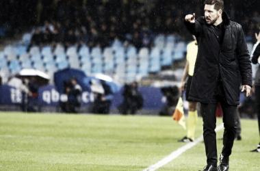 """Simeone reconhece superioridade da Real Sociedad em revés: """"Tiveram muito mérito na vitória"""""""