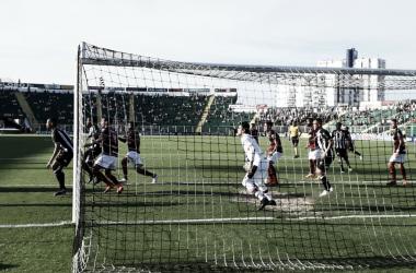 Equipes fizeram jogo disputado no Orlando Scarpelli (Reprodução/Twitter)