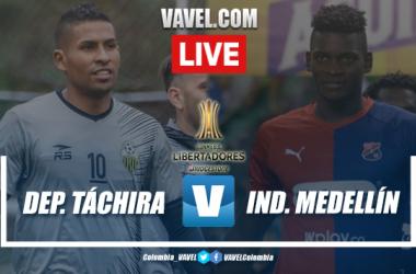 Resumen Táchira vs. Medellín (2-0)