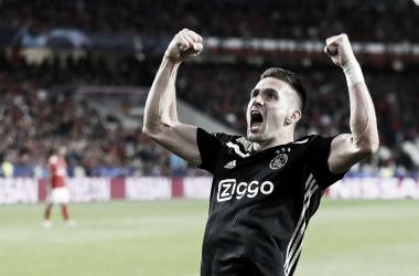 Benfica 1 - Ajax 1 Foto: @AFCAjax