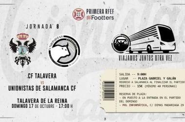 Talavera - Unionistas CF. Foto: Unionistas CF