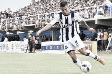 Nazareno Solís volvió a demostrar todo su potencial en el campo de juego. (Foto: Club Talleres)
