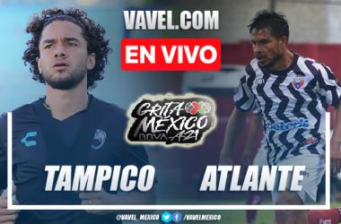 Goles y resumen del Tampico Madero 1-1 Atlante en Liga Expansión MX