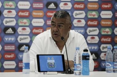 """Claudio Tapia: """"Tenemos un compromiso con todos los hinchas de la Selección"""""""
