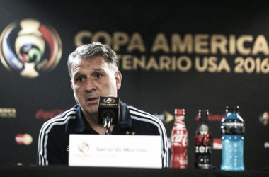 "Gerardo Martino: ""Messi va a jugar"""