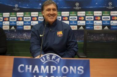 """Tata Martino: """"Debemos hacer un juego más convincente y acercarnos a la excelencia"""""""