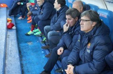 """Tata Martino: """"El Barcelona, por bajas que tenga, siempre tiene para  presentar un equipo excelente"""