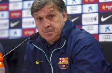 """Tata Martino: """"Lo importante es ser campeón de verano"""""""