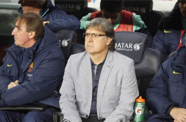 """Tata Martino: """"El rendimiento del equipo me gustó mucho"""""""