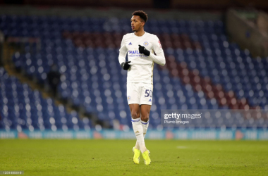Sidnei Tavares makes his Premier League debut against Burnley last time out | Photo: Getty/ Plumb Images