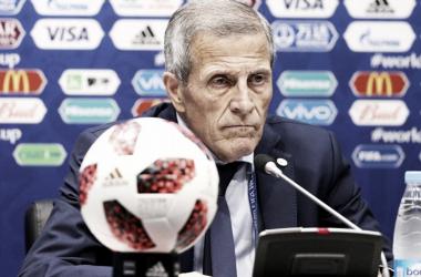 Tavárez en rueda de prensa/ Foto: FIFA.com