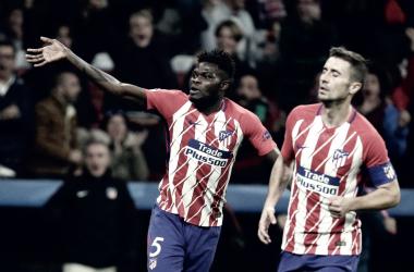 Dos hombres para un solo puesto/ Fuente: Atlético de Madrid