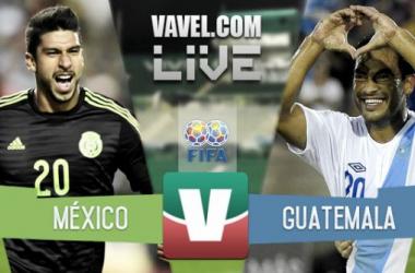 Resultado México - Guatemala en partido amistoso 2015 (3-0)