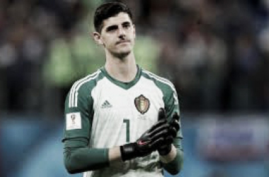 Thibaut Cuortois, arquero de la selección belga.   Foto: Fifa.com