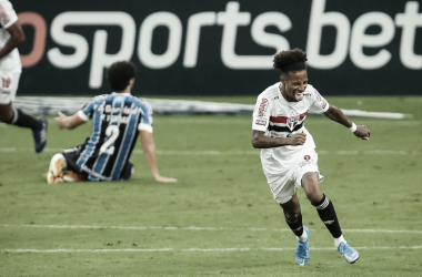 Grêmio 1 a 2 São Paulo (Foto: Divulgação / São Paulo FC)