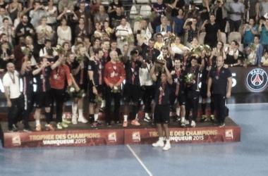 Le PSG vainqueur du Trophée des champions