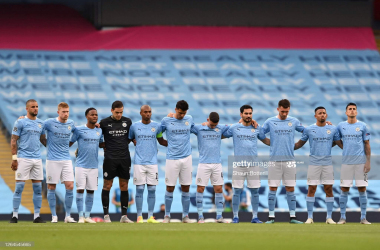 How Manchester City could line-up against Lyon
